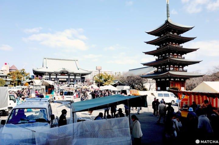 『名古屋』最親切的市集!阿婆與文青的聚集地|覺王山緣日市集