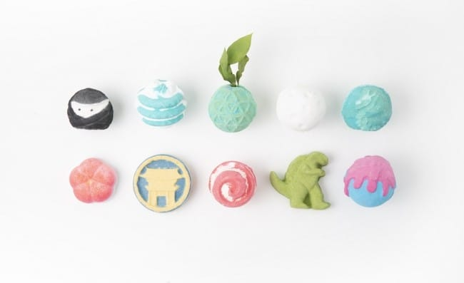 Lush Harajuku - 13 New Bath Bombs Limited To Tokyo's Special Store