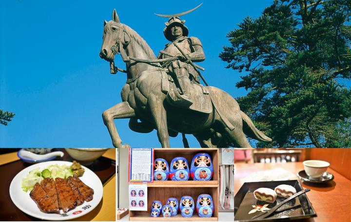 미야기현 (宮城県)・센다이 (仙台) 의 추천 관광지 12곳. 추천 일정, 먹을거리, 교통편 소개