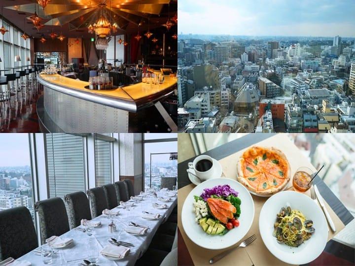 東京を一望!渋谷の絶景レストラン「CAFE Legato」