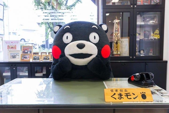 """前往熊本县""""熊本熊广场""""、会会大受欢迎的当地卡通代言人吧!"""