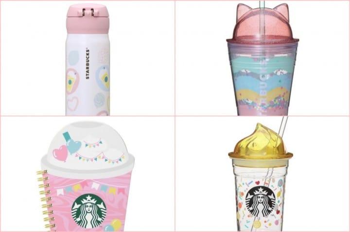 อย่าพลาดคว้าความน่ารักกับบรรดาแก้วและ Tumbler ล่าสุดจาก Starbucks ญี่ปุ่น!