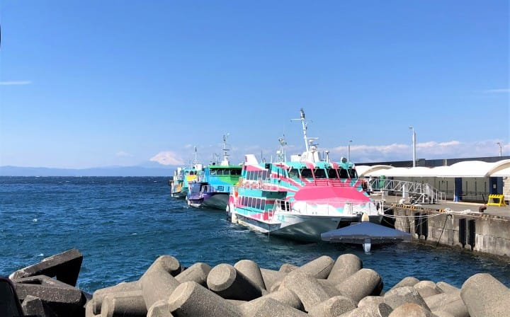 Japan, Off The Beaten Path (3) - Izu Oshima: Volcanoes And Cherry Blossoms