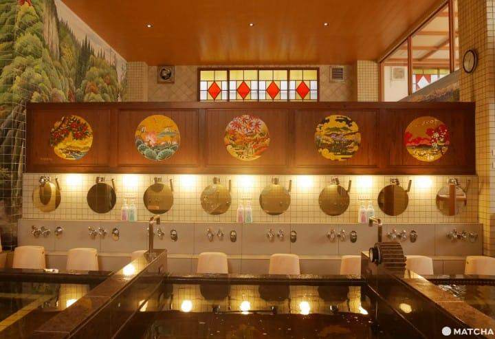 【東京】最美好的大正浪漫風復古錢湯「はすぬま溫泉」