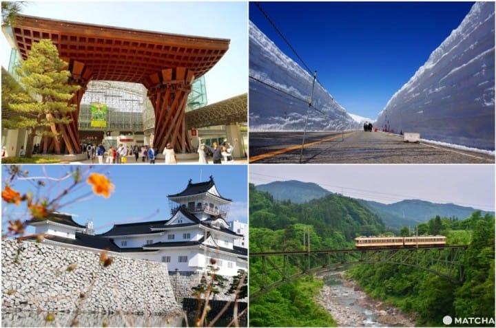 【升龙道】名古屋出发!七天范例行程走访北陆人气与私房景点