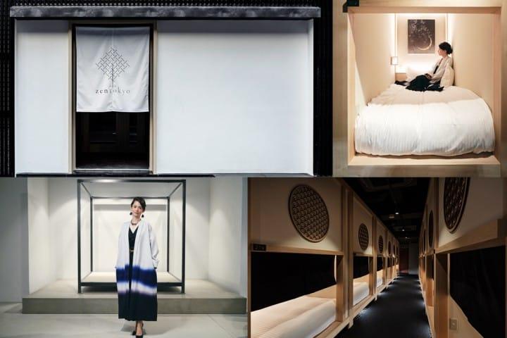 【도쿄 닌교초】다실에 머무른다?나홀로 여행족에게 편리한 캡슐호텔「hotel zen tokyo」