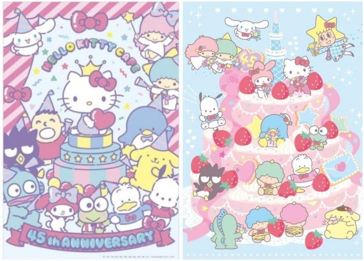 ฉลองครบรอบ 45 ปี Hello Kitty กับสองงานและคาเฟ่ที่อิเคะบุคุโระและ Tokyo Skytree