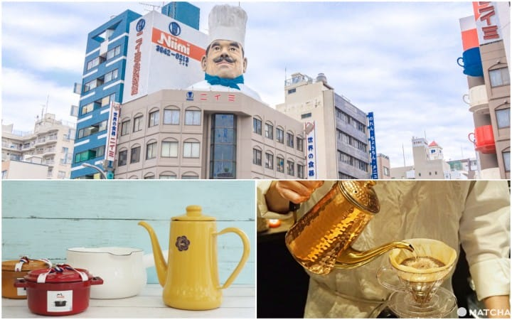 【合羽桥道具街】咖啡道具买到需要休足时间喝杯咖啡的半天行程