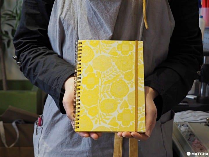 【京都】用百年技术做一本永续的笔记本 & PAPERS