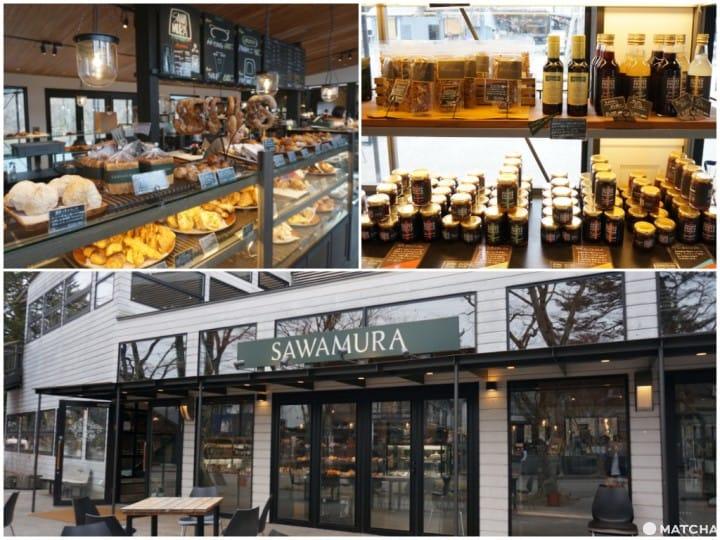 『舊輕井澤』麵包才是你該品嚐的輕井澤風味!人氣麵包旗艦店SAWAMURA