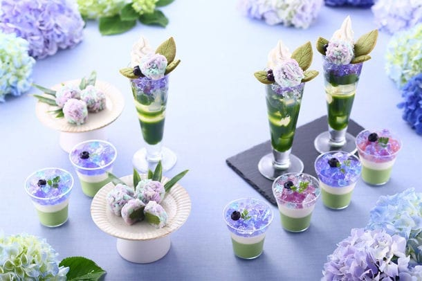Kyuemon Ito Hydrangea Festival - Seasonal Matcha Treats In Kyoto