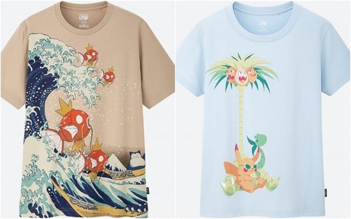 UNIQLO To Release 22 Original Design Pokémon Shirts In June