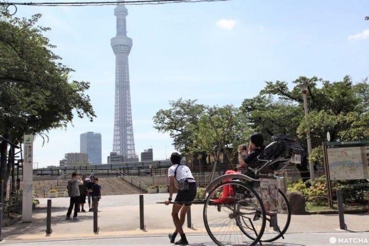 A Throwback To Old Japan: Take A Ride On Asakusa's Rickshaws