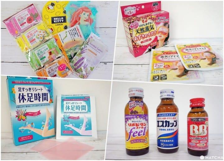 6 ไอเทมและเคล็ดลับคลายเหนื่อยแต่ละวันแบบญี่ปุ่น เพื่อการตะลุยเที่ยวอย่างต่อเนื่อง!