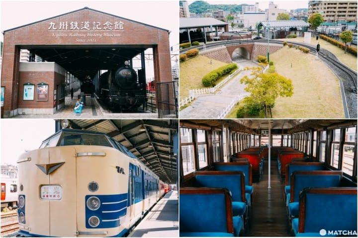 """【福冈】让大人小孩都玩到乐不思蜀的超好拍景点""""九州铁道纪念馆"""""""