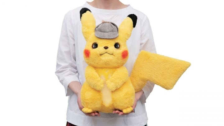 DETECTIVE PIKACHU - Get Your Life-Sized Posable Doll From Japan