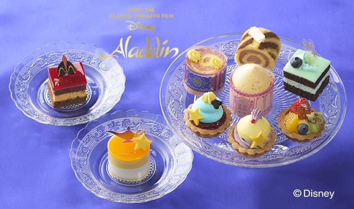 Ginza Cozy Corner's Aladdin Star Festival Collection Cakes