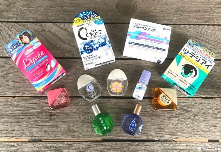 รีวิวเปรียบเทียบ น้ำตาเทียม-ยาหยอดตา ญี่ปุ่นยอดนิยม 5 ชนิด