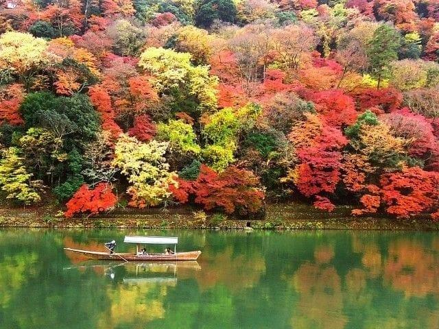 Arashiyama in the fall