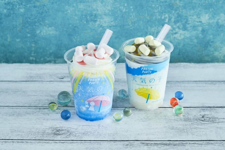 LAWSON Weathering With You FROZEN PARTY Good And Bad Weather Drinks