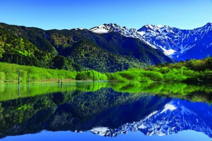 『長野』宛如阿爾卑斯山的少女場景!夢幻仙境上高地
