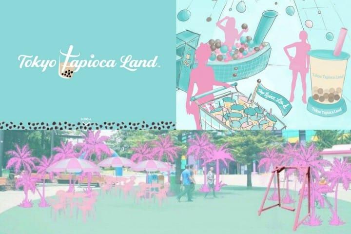 ธีมพาร์คชานมไข่มุก! Tokyo Tapioca Land ที่ฮาราจูกุ