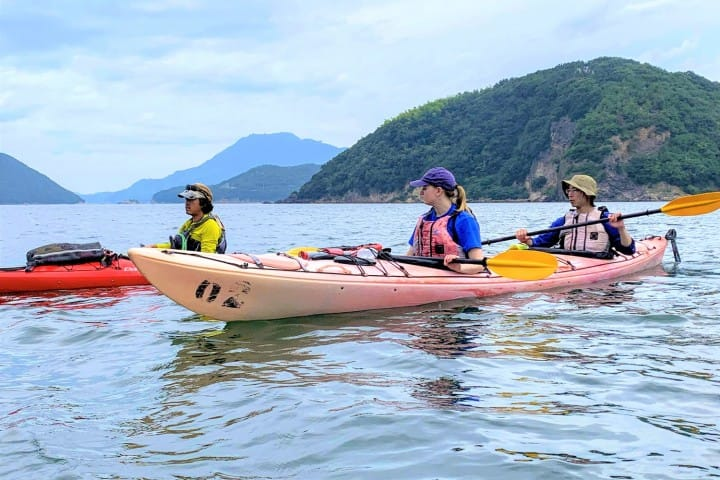 Seto Inland Sea - Beginner-Friendly Kayaking At Free Cloud