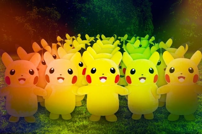 Yokohama Pikachu Outbreak! 2019 - Eevee Returns Alongside 2000 Pikachus