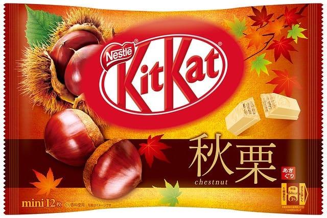 Image result for japanese kit kat autumn 2019