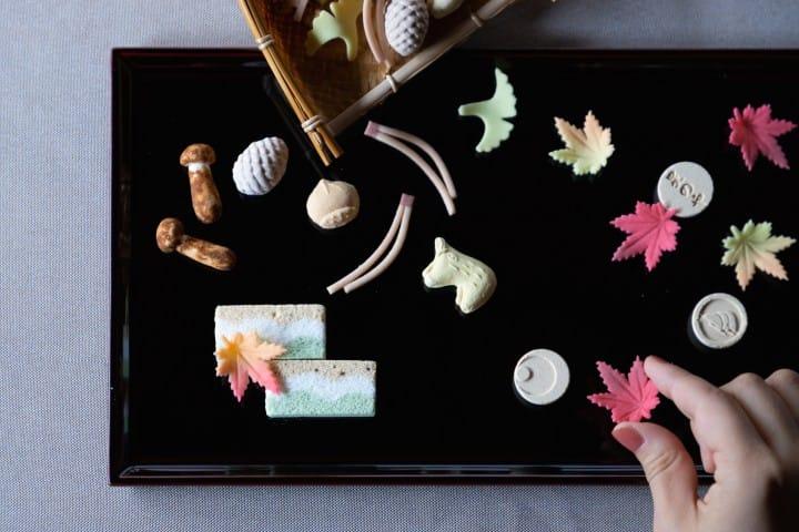 星のや京都 和菓子