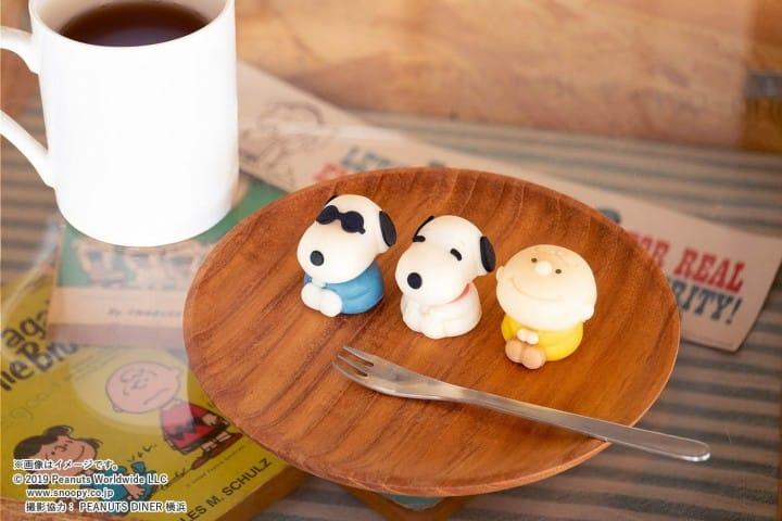 Snoopy和菓子