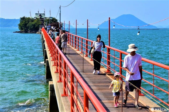 Tsushima Shrine In Kagawa - Visit The Guardian Deity Of Children
