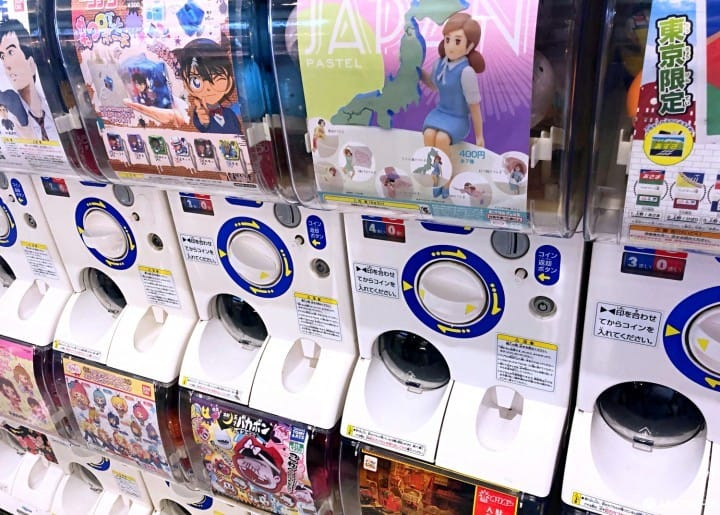 Gachapon - Una guía sobre las cápsulas sorpresa de Japón y dónde comprarlas
