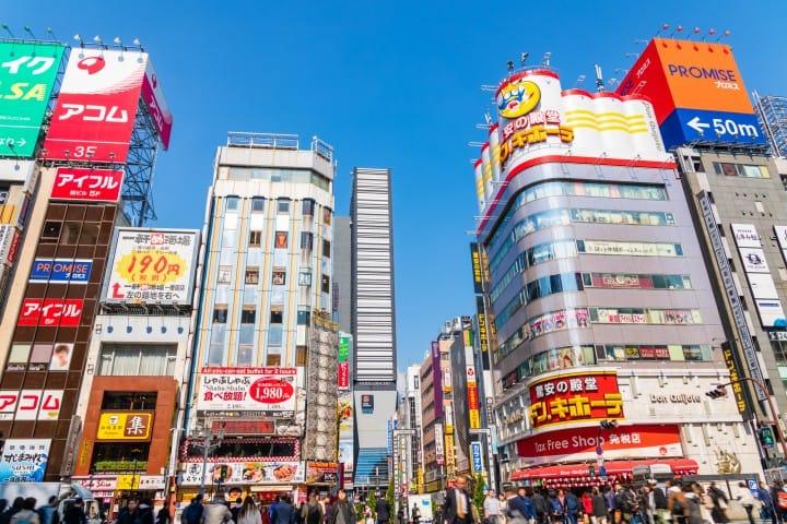shinjuku souvenir shopping