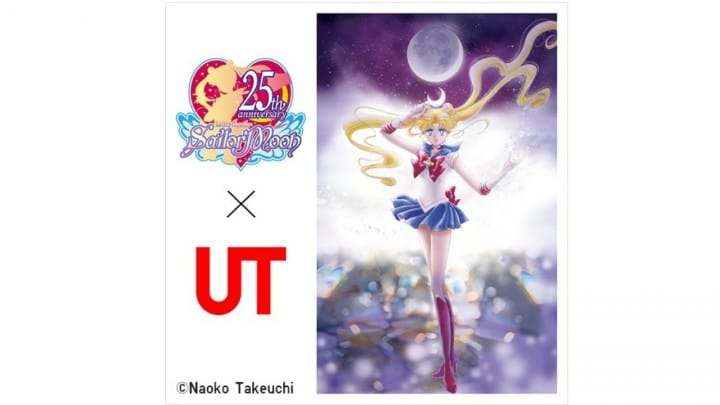 Sailor Moon x UNIQLO - Popular Comic Images On Eight Different Shirts