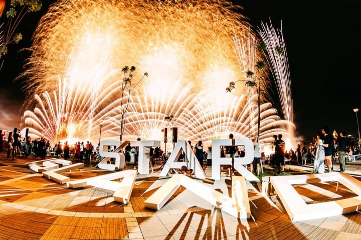 STAR ISLAND Japan - Experience A New Dimension Of Firework Shows