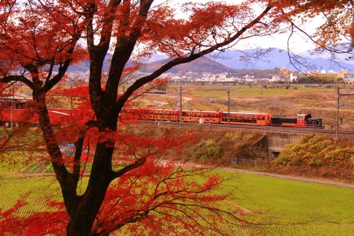 Kameoka in fall