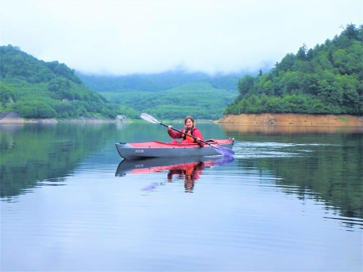 Minakami canoe