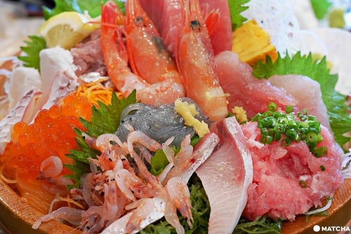 """【静冈】樱桃小丸子家的超级市场! ?来""""清水河岸鱼市场""""大啖超值豪华海鲜"""
