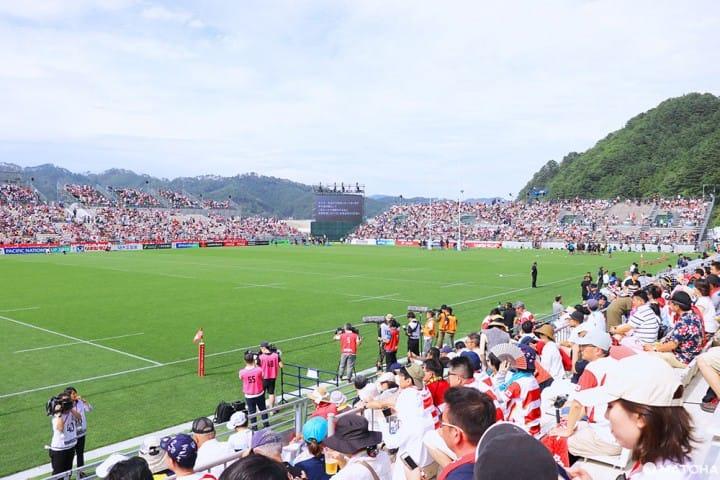 日本で一番ちいさなラグビースタジアムの物語