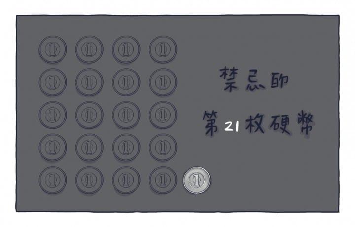 漫畫:禁忌的第21枚硬幣