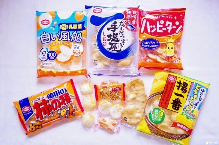 Icip-Icip Senbei: Crackers Beras Renyah dari Jepang!