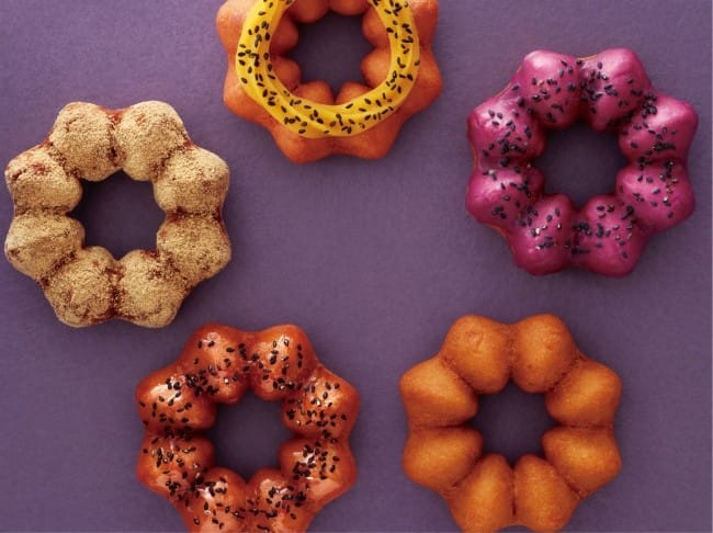 Mister Donuts Sweet Potato Doughnuts - 5 Different Fall Treats