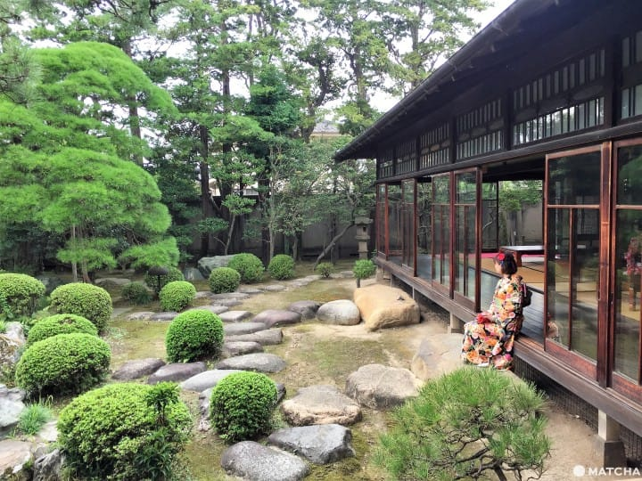 【东京】柴又老街中的大正浪漫,和服与庭园的完美组合—山本亭