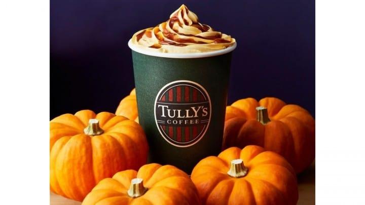 Tully's Salt Caramel Pumpkin Caffè Latte & Caramelized Apple Milk Tea