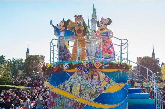 2020年過年 東京迪士尼