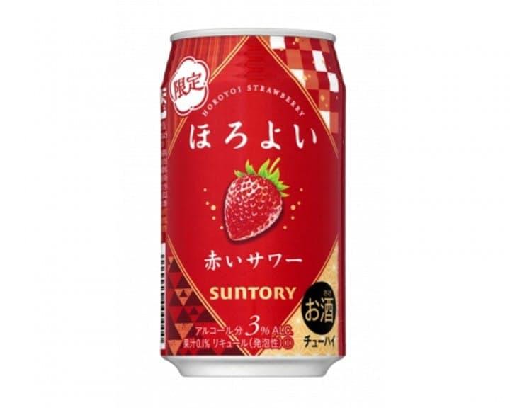 겨울한정! 호로요이 딸기맛 12월 전국 판매