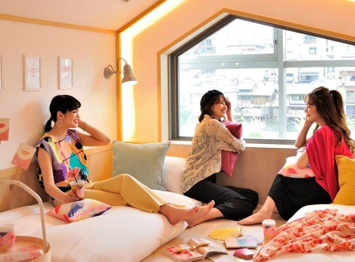A Female-Friendly Kyoto Hostel! Make Memories At CAFETEL Kyoto Sanjo