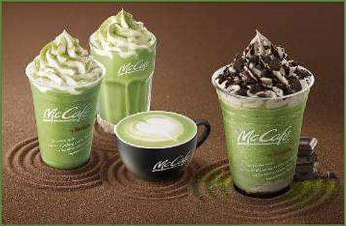 McDonalds Japan - McCafe by Barista Uji Powdered Green Tea Series