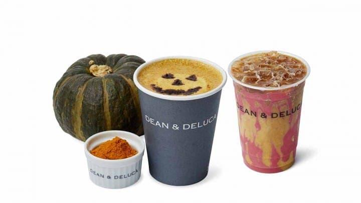 DEAN&DELUCA's Pumpkin Turmeric  Latte And Spooky Halloween Offerings